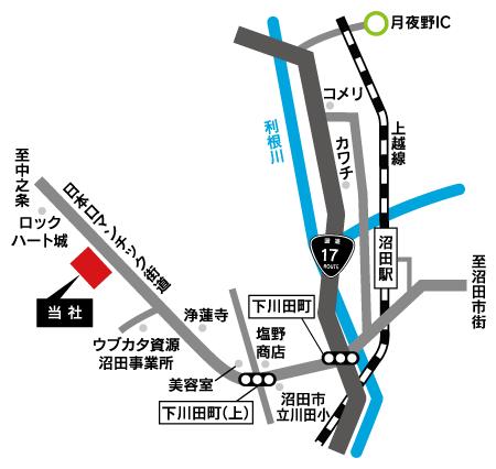 当社所在地MAP