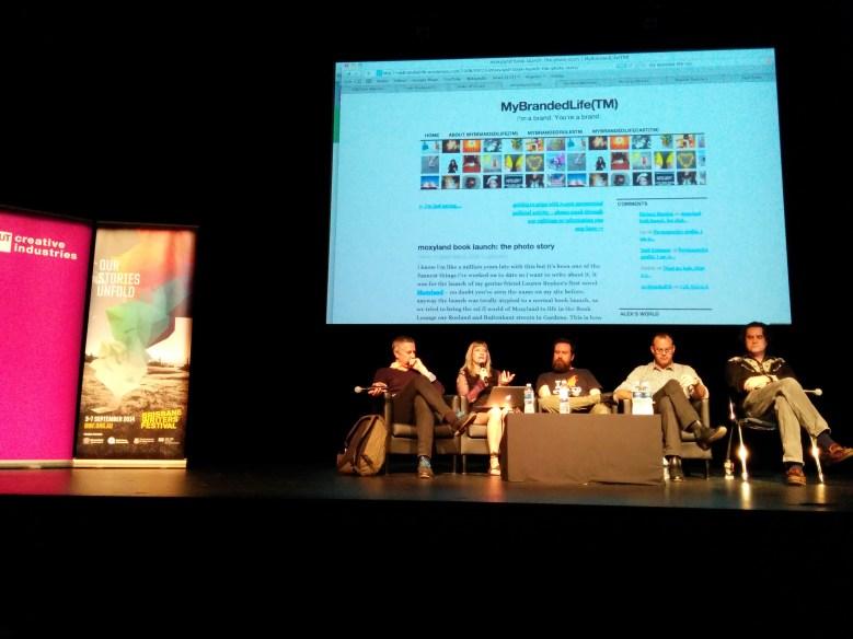 STORY+ 2014 Panel: Lauren Beukes, Mike Jones, Greg Broadmore, Malcolm Neil and Jason Nelson