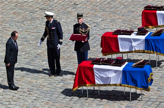 Burial UN Peacekeepers