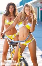 Swimsuit 2014: New Jersey Gigi Hadid and Sara Sampaio NJ, USA 9/4/2013 X156875 TK4 Credit: Ben Watts