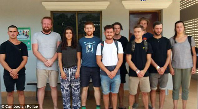 Arrested tourists in Cambodia.jpg