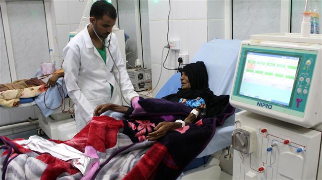 Kidney dialysis patient