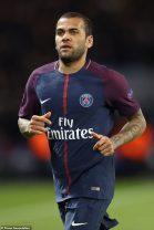 Paris Saint-Germain's da Silva Dani Alves