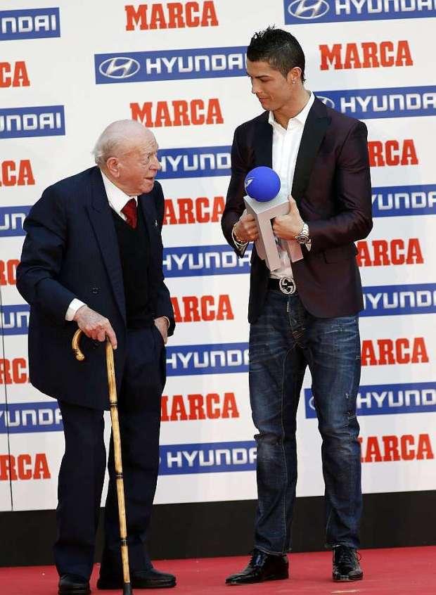 Ronaldo and Alfredo di Stefano