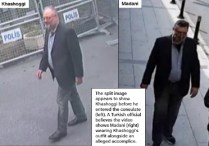 Khashoggi's last seen video