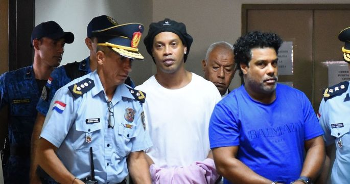 Ronaldinho and brother