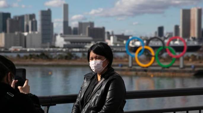 Olympics Tokyo Virus