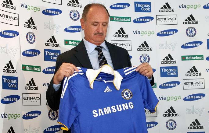 New Chelsea Manager Luiz Felipe Scolari