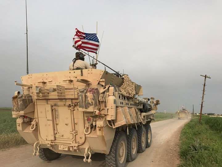 ABD'den Rojava sınırına konuşlandırdıkları zırhlı Kalkan ile ilgili  açıklama / video haber