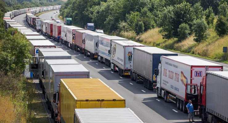 Batı Avrupa'dan boş dönen TIR sayısı yüzde 260 arttı