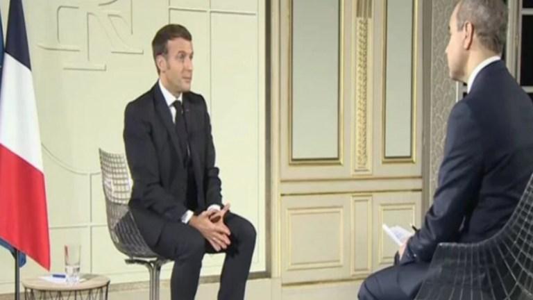 Macron: QSD ve kahraman Kürt savaşçılarıyla DAİŞ yenilgiye uğratıldı