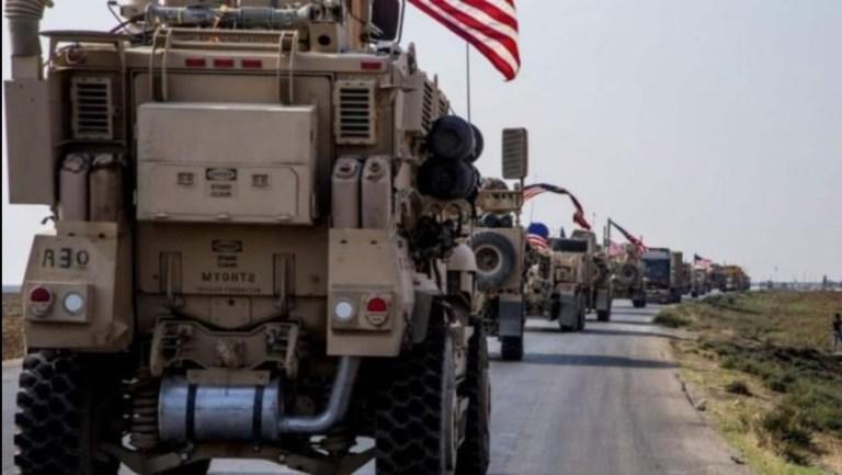 ABD'den DSG kontrolündeki bölgeye 50 araçlık askeri sevkiyat