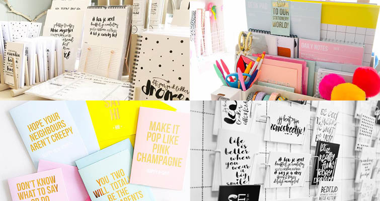 stationery labels - studio stationery / winkeltje van anna