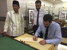 Prof Nasarudin Umar, Mezquita Istiqlal