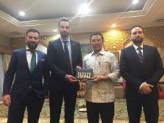 H.E. Imam Nahrawi, Ministro de Juventud y Deporte, Indonesia