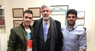 Apoyo institucional hacia la comunidad musulmana. Daniel González