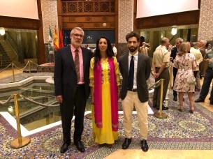 Fiesta del Trono en el Consulado General del Reino de Marruecos en Sevilla