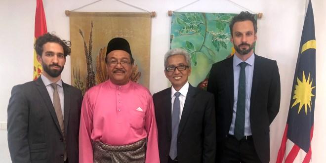 Recepción en la Embajada de Malasia por el 61 aniversario del día nacional