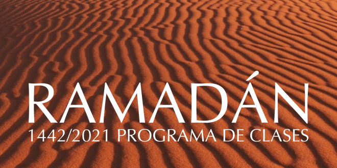 Programa de clases online, Ramadan 2021