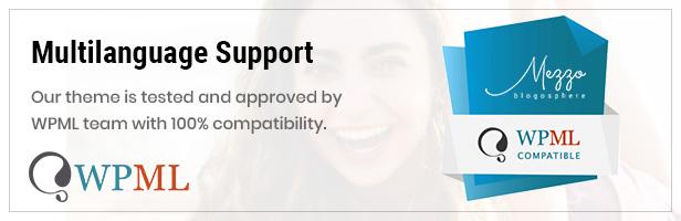 Mezzo Theme WPML Compatible
