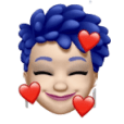 Emoji of myself taking things to heart