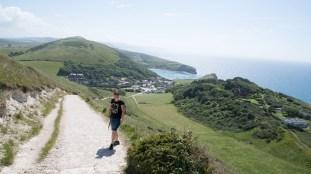 Blick auf Lulworth Cove