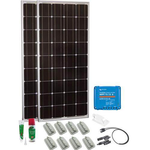Caravan Kit Base Camp Easy MPPT Smart Solar 200Wp 4