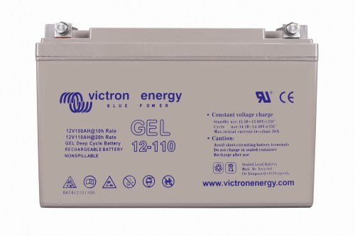 Victron Gel Deep Cycle 12V 110Ah 6