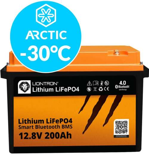 Liontron LiFePO4 LX Smart BMS 12.8V 200Ah Arctic 5
