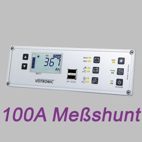 Multi-Panel-System, LCD Anzeige, 12V, Batteriemonitor und 100A Shunt 2
