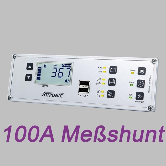 Multi-Panel-System, LCD Anzeige, 12V, Batteriemonitor und 100A Shunt 1