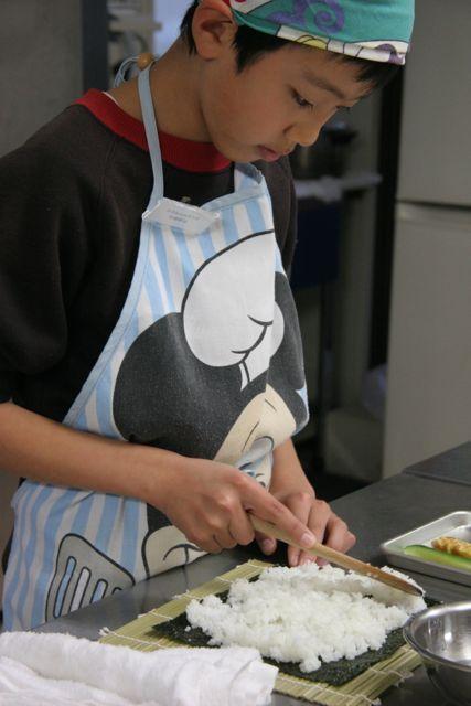 キッチンスタジオ◆横浜ミサリングファクトリー-巻き寿司3