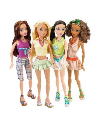Juegos infantiles de vestir, peinar, maquillar muñecas Barbie para niñas, jovencitas y chicas