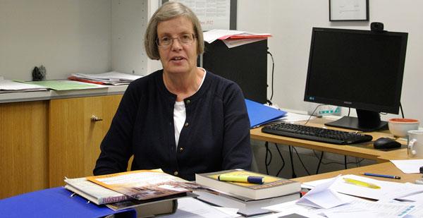Susan Sundback.