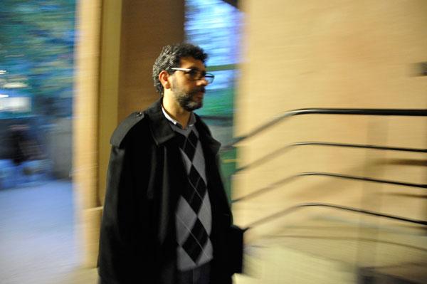 Ziad Majed. Foto: Marcus Prest