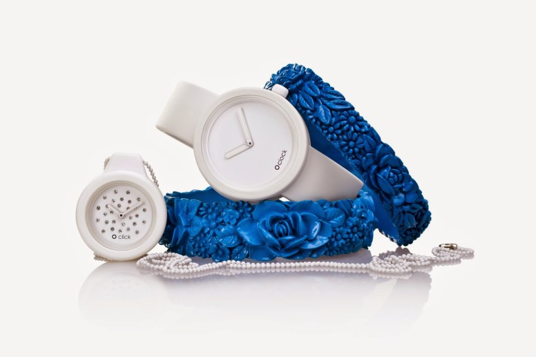 O clock + O click e flower bracelet by Full spot