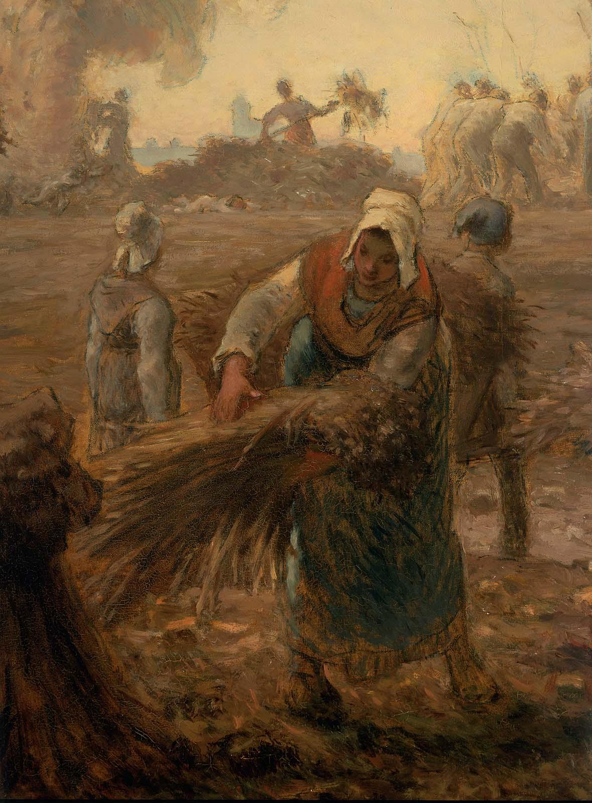 Buckwheat Harvest Summer Museum Of Fine Arts Boston