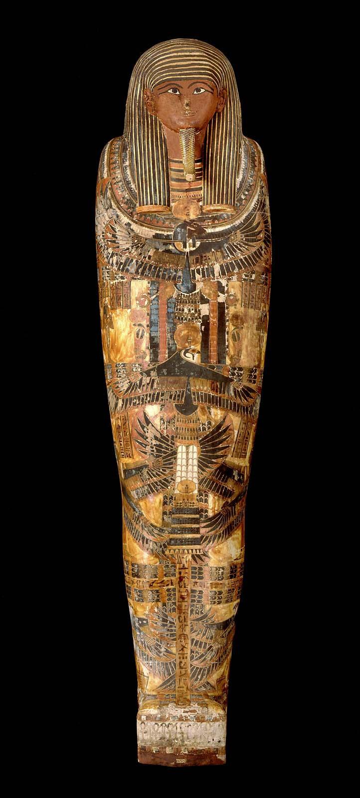 Mummy Case And Mummy Of Penu Museum Of Fine Arts Boston