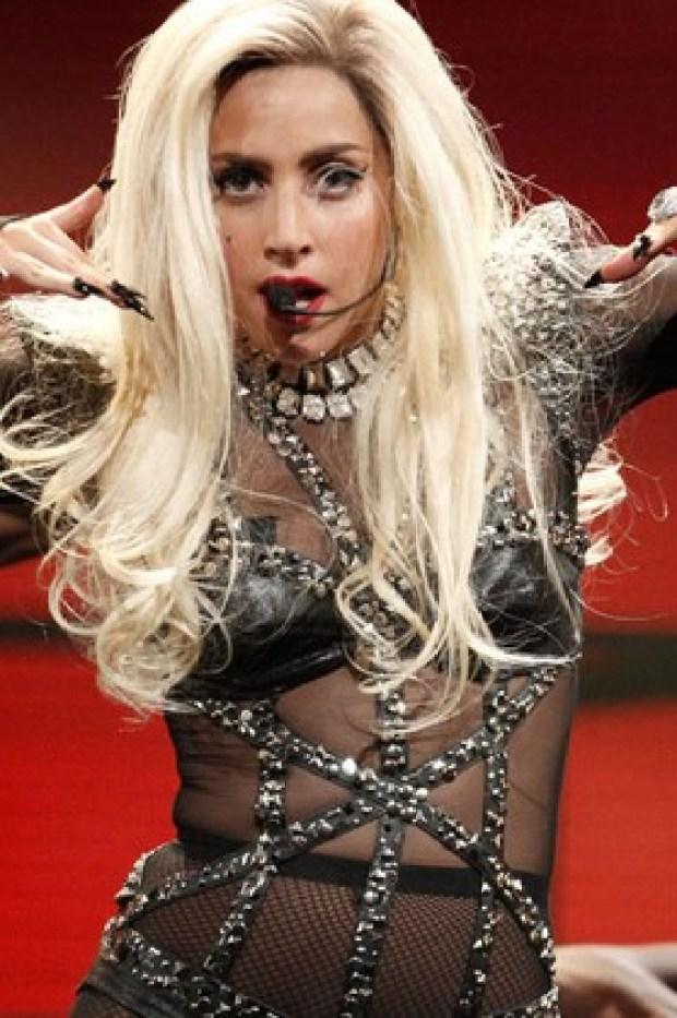 Lady Gaga no Grammy 2016 (Foto: Getty Images)