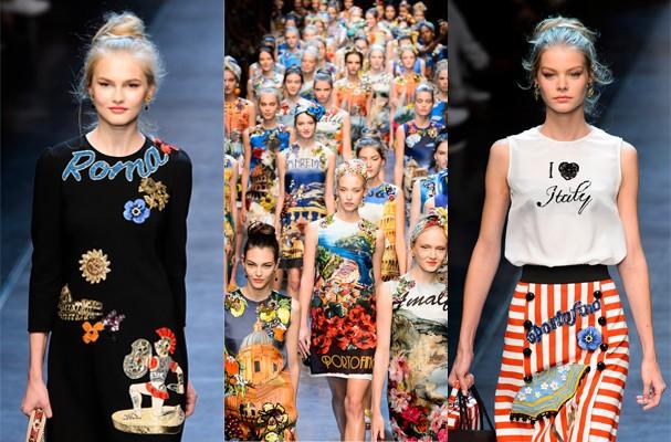 Dolce & Gabbana Spring Summer 2016 (Foto: Imaxtree)