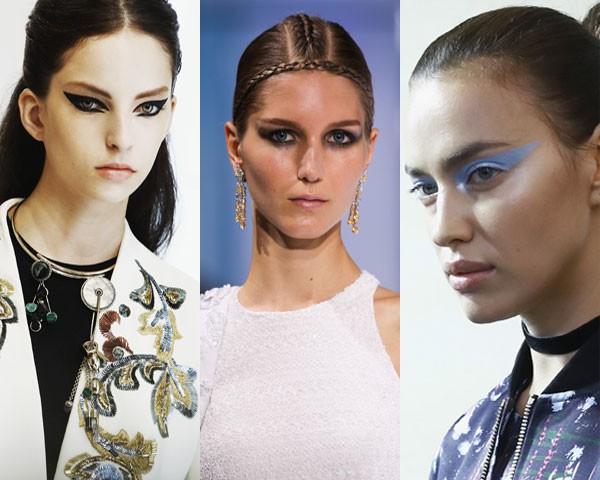 Dior, Guo Pei e Atelier Versace: a mesma proposta e materiais diferentes (Foto: Getty Images)