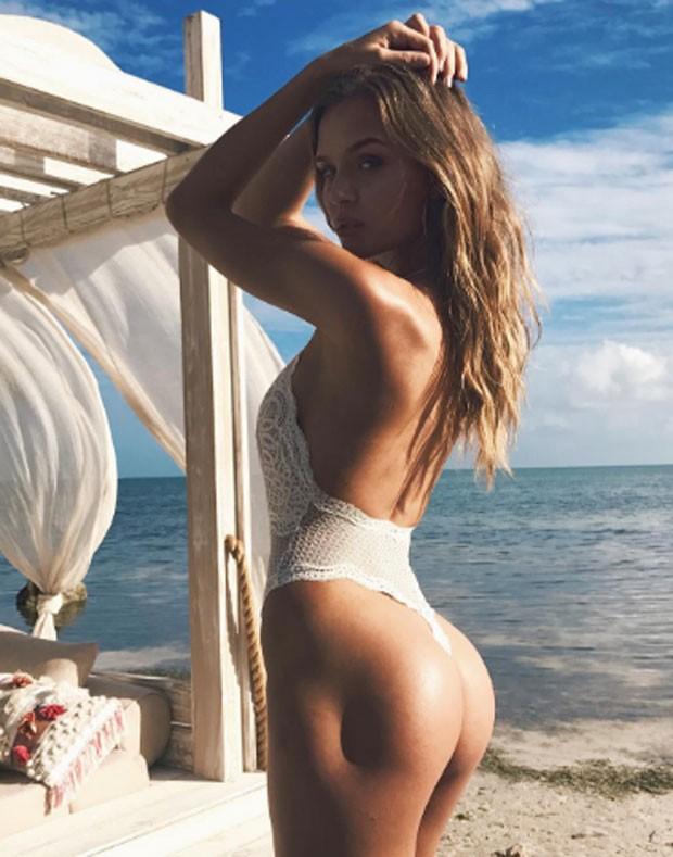 Josephine Skriver ficou conhecida como a modelo da