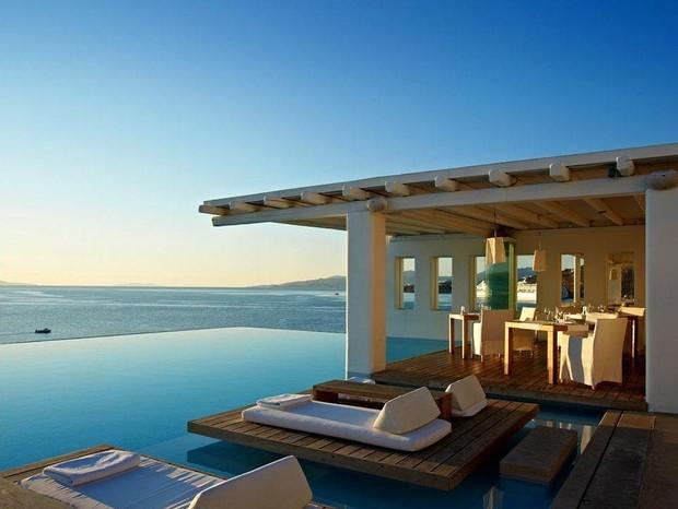 Hotel Cavo Tagoo em Mykonos (Foto: Reprodução)
