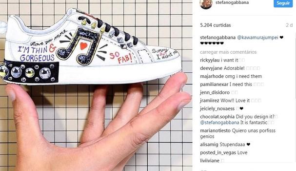 Stefano Gabanna compartilhou desabafo em sua conta (Foto: Reprodução/Instagram)