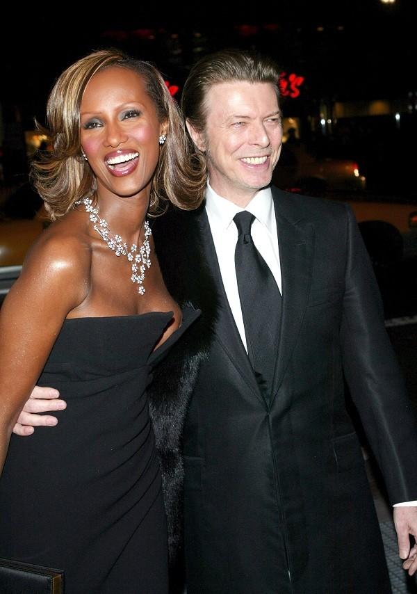 Iman e David Bowie (Foto: getty images)