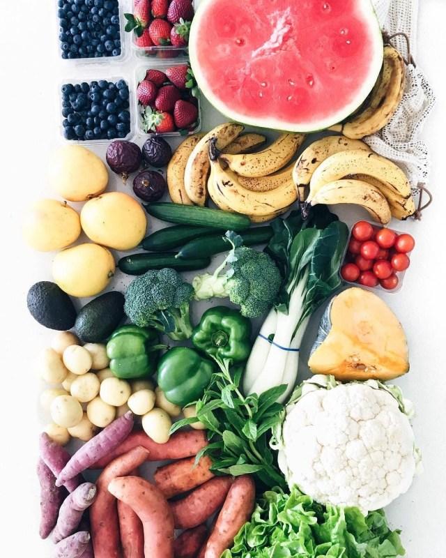 Frutas e legumes (Foto: Instagram/Reprodução)