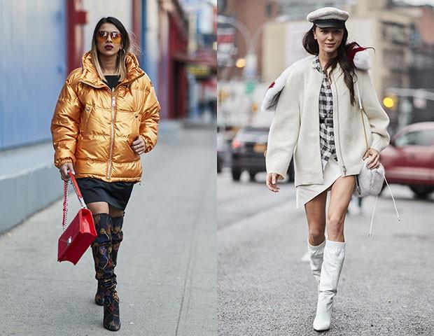 Modelos diferentes deixaram os looks mais marcantes (Foto: Imaxtree)