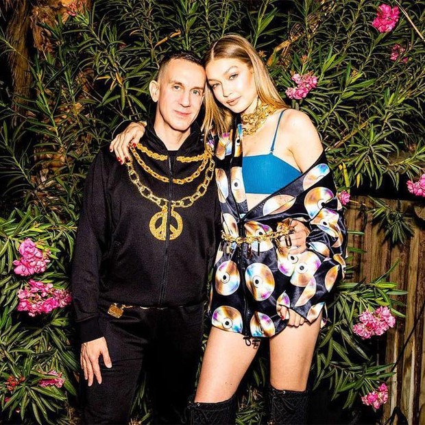 Jeremy Scott e Gigi Hadid (Foto: Reprodução/ Instagram)