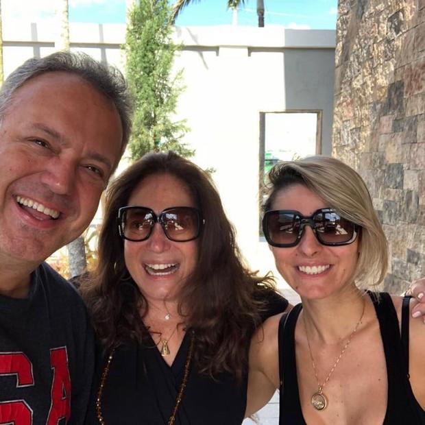 Susana Vieira e familiares (Foto: Reprodução/Instagram)