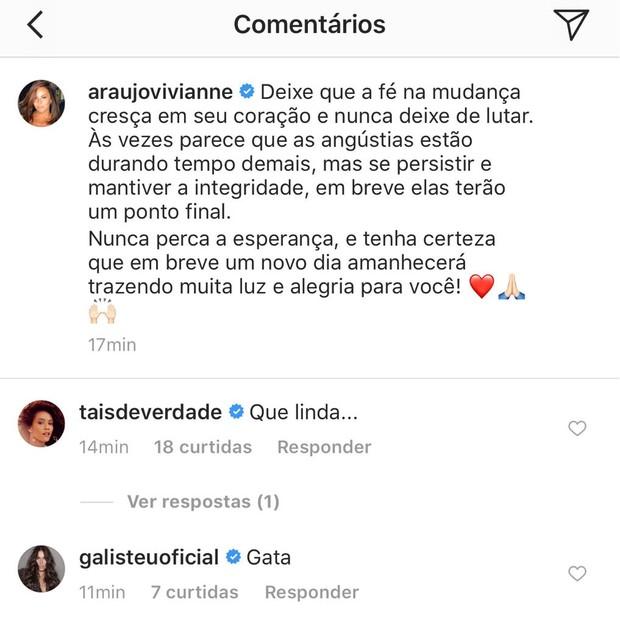 Vivianne Araújo Instagram (Foto: Reprodução/Instagram)